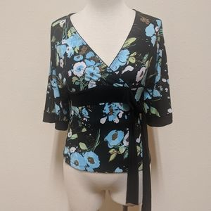 3for$20 SP floral blouse